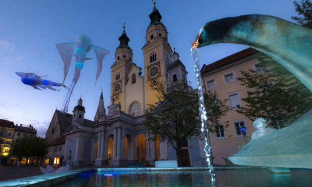 Luci e acqua, Bressanone si anima con il Water Light Festival