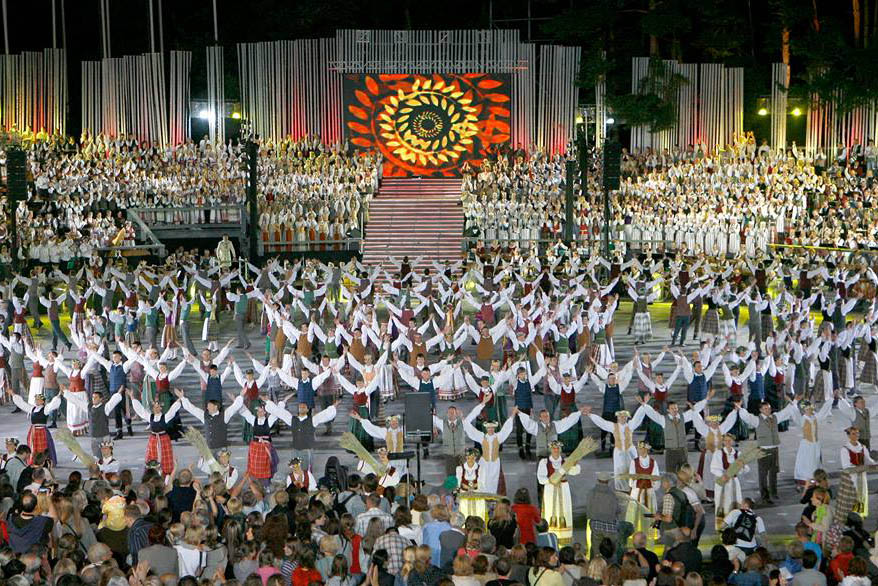 Lithuanian song and dance festival