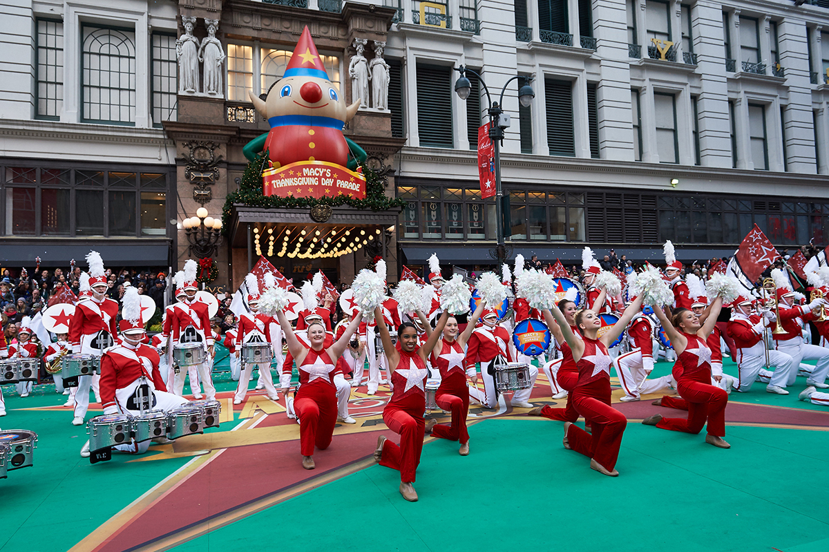 Macys Great American Marching Band 2015 Macys Parade Credit Kent Miller Studios
