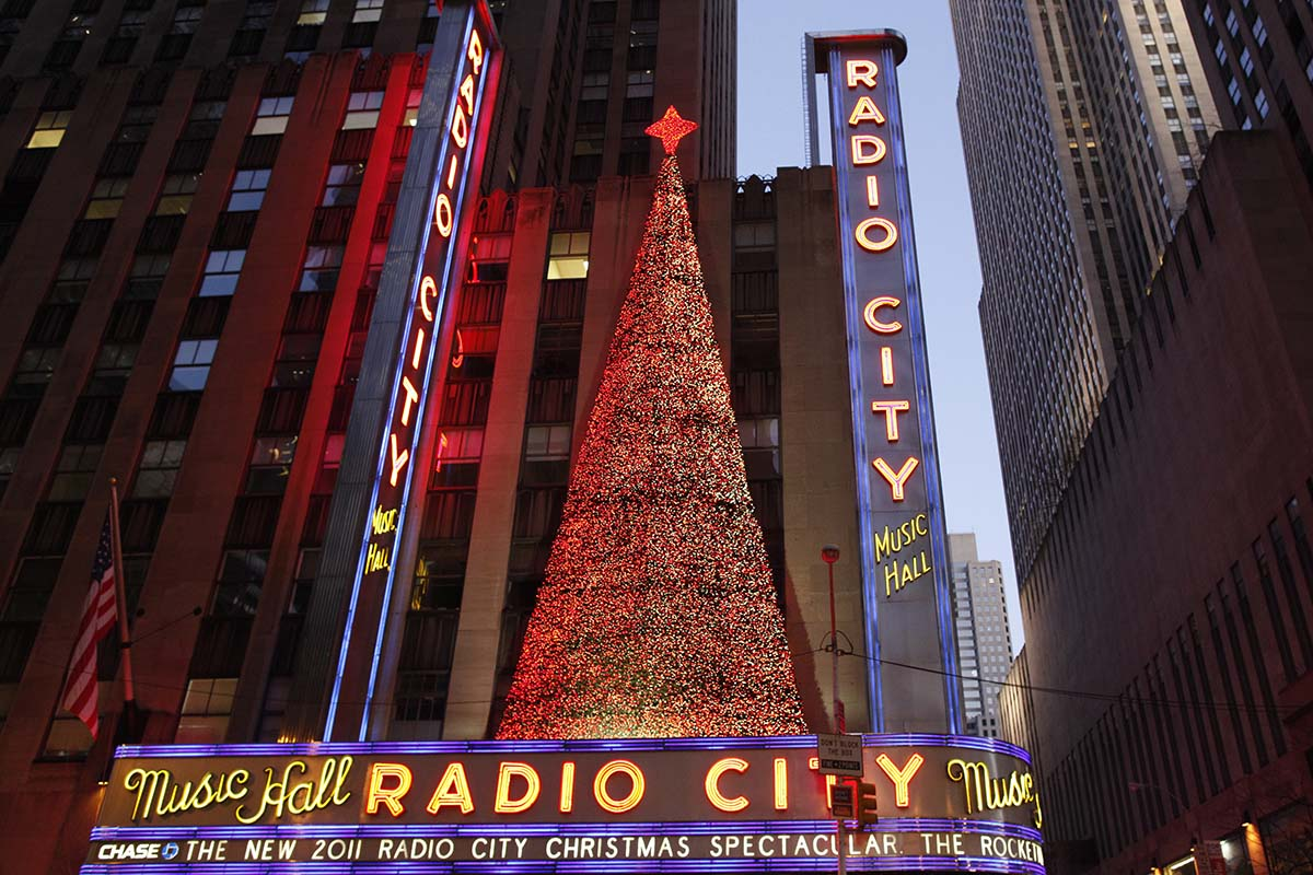 Radio City Music Hall Exterior Credit Joe Buglewicz