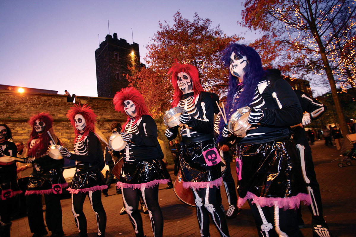 Banks of the Foyle Halloween Carnival Derry Londonderry